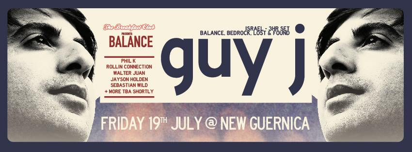 Guy Facebook flyer