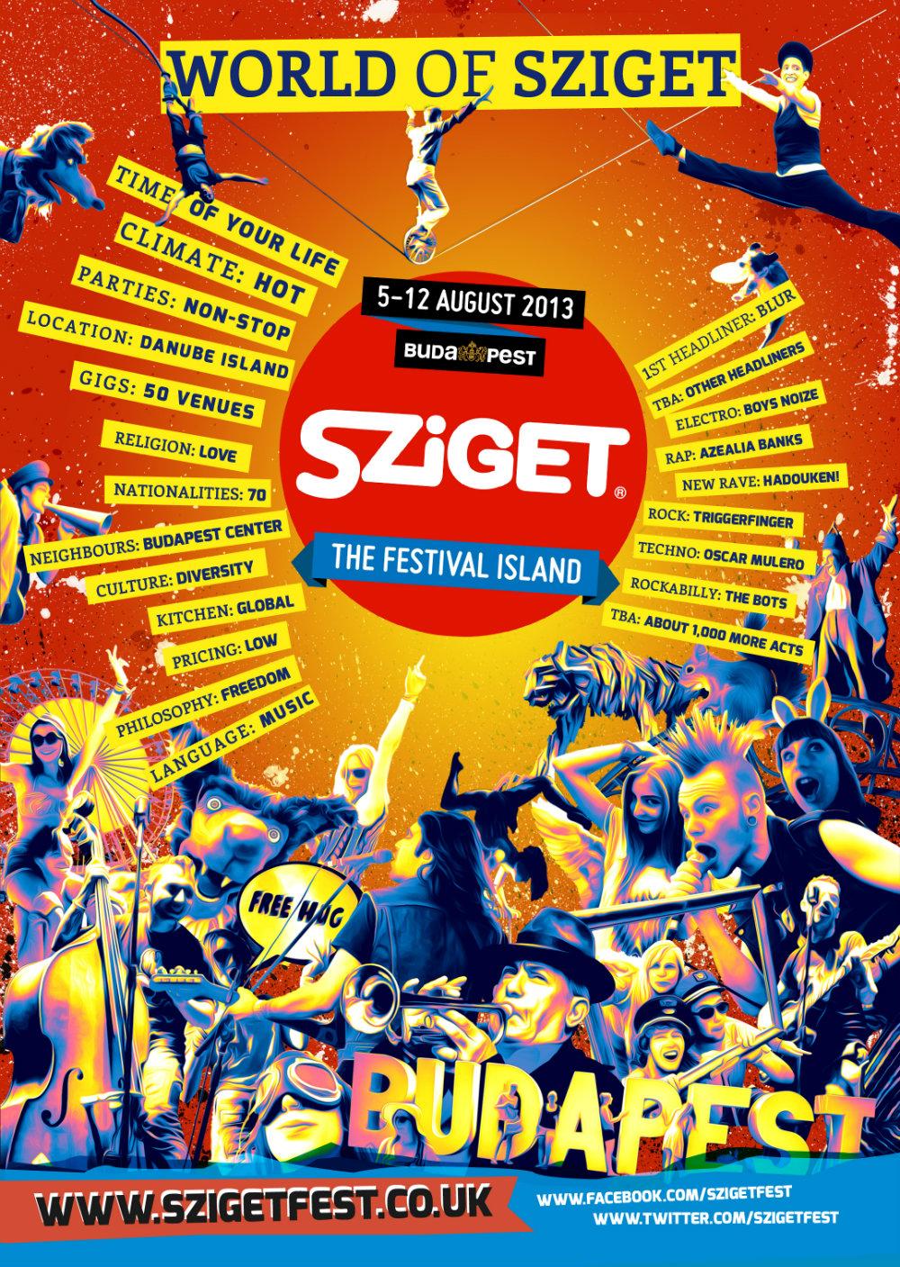 Guy Balance launch Hungary Sziget festival